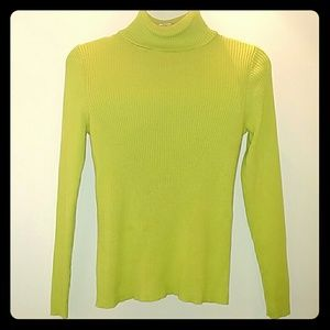 Kim Rogers turtleneck sweater size small